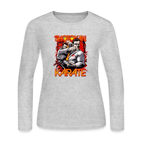 Shotokan Karate - Women's Long Sleeve Jersey T-Shirt
