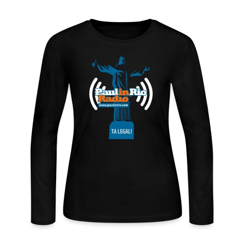 Paul in Rio Radio - The Thumbs up Corcovado #2 - Women's Long Sleeve Jersey T-Shirt