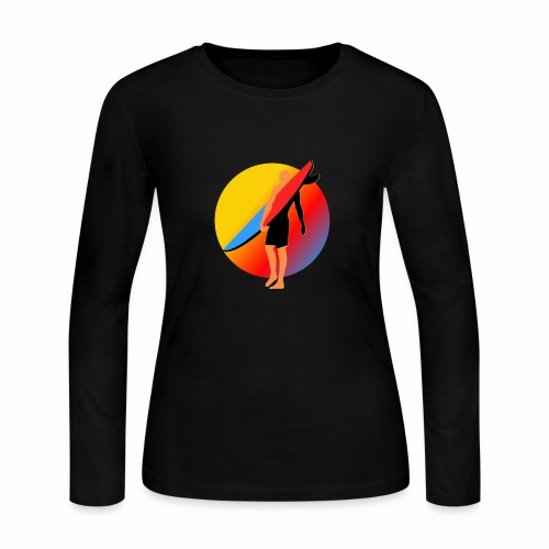 SURFER - Women's Long Sleeve Jersey T-Shirt