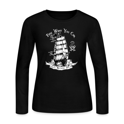 2ton Pyrates - Women's Long Sleeve Jersey T-Shirt