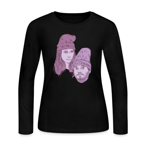 Hila and Ethan from h3h3productions - Women's Long Sleeve Jersey T-Shirt
