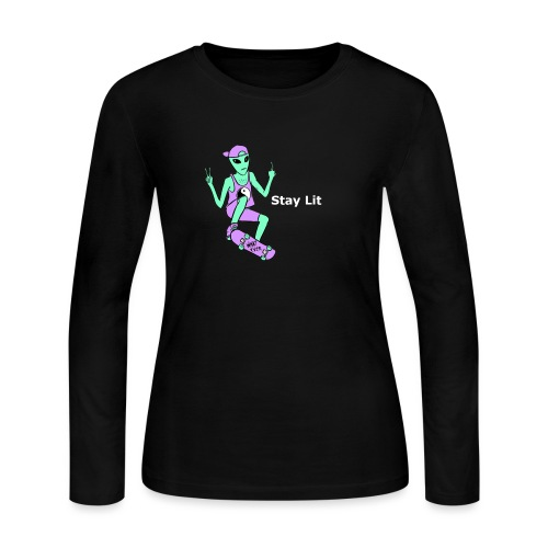 Stay Lit 2 - Women's Long Sleeve Jersey T-Shirt