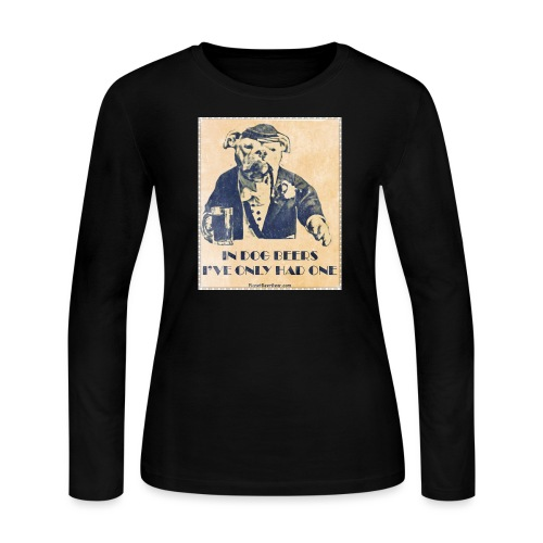 Vintage In Dog Years I've Only Had One - Women's Long Sleeve Jersey T-Shirt