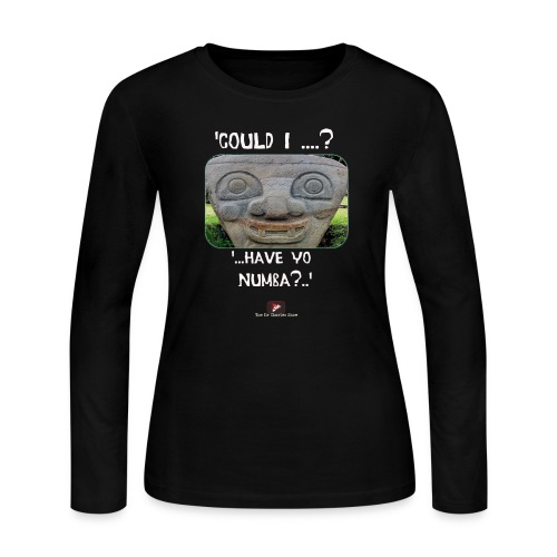 Alien Could I have your Number - Women's Long Sleeve Jersey T-Shirt