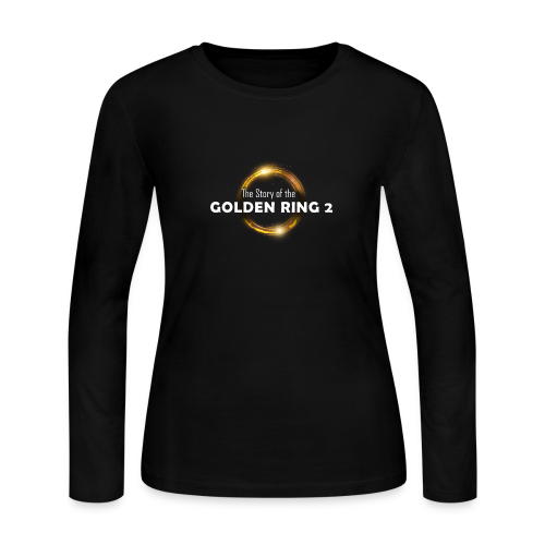 golden ring - Women's Long Sleeve Jersey T-Shirt