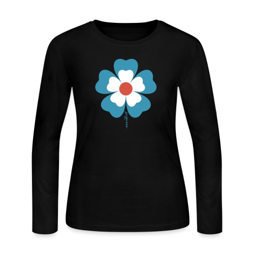 flower time - Women's Long Sleeve Jersey T-Shirt