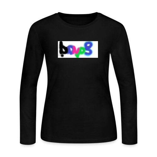 brush the haters off - Women's Long Sleeve Jersey T-Shirt