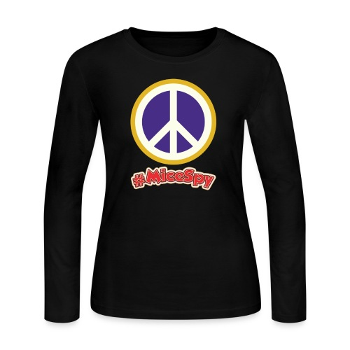 Fillmore Peace Explorer Badge - Women's Long Sleeve Jersey T-Shirt