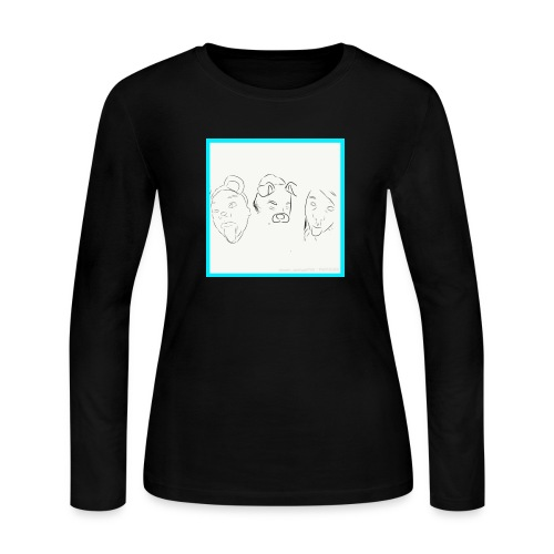Cartoons - Women's Long Sleeve Jersey T-Shirt