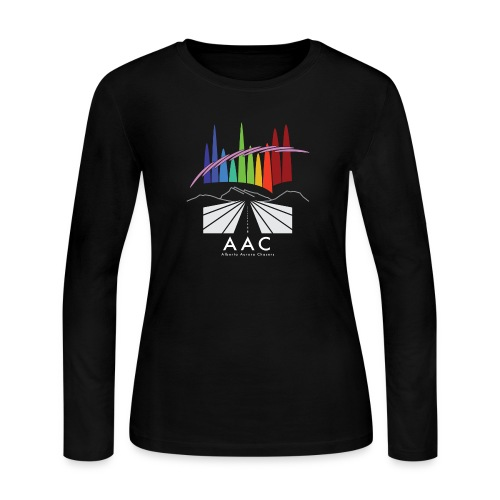 Alberta Aurora Chasers - Men's T-Shirt - Women's Long Sleeve Jersey T-Shirt