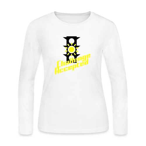 Challenge Accepted - Women's Long Sleeve Jersey T-Shirt