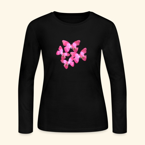 butterfly_effect - Women's Long Sleeve Jersey T-Shirt