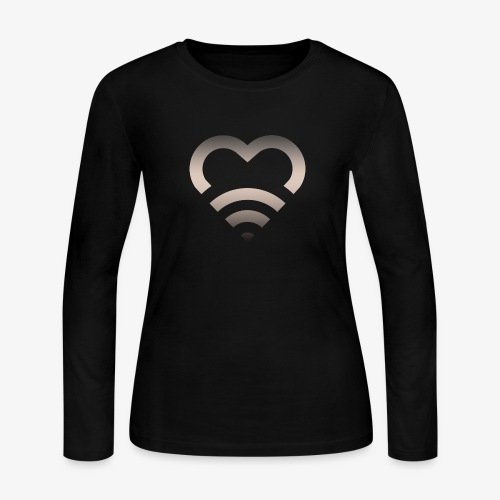 I Heart Wifi IPhone Case - Women's Long Sleeve Jersey T-Shirt