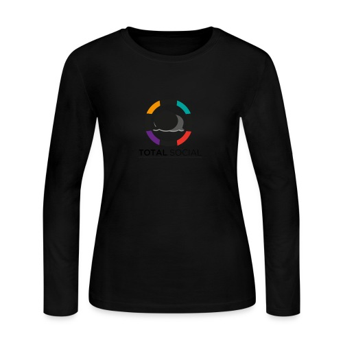 Logo_Total_Social_PNG_03 - Women's Long Sleeve Jersey T-Shirt