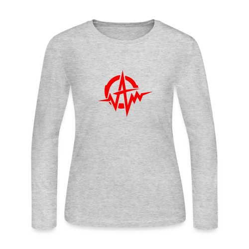 Amplifiii - Women's Long Sleeve Jersey T-Shirt