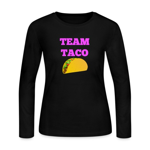 TEAMTACO - Women's Long Sleeve Jersey T-Shirt