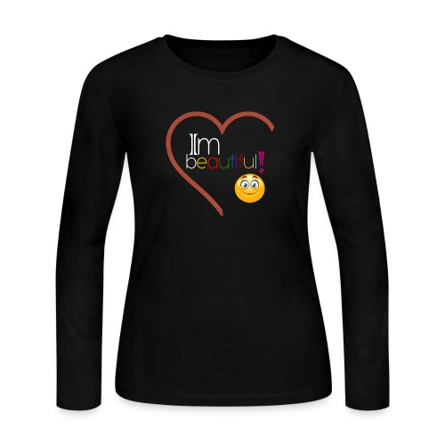 i'm beautiful - Women's Long Sleeve Jersey T-Shirt