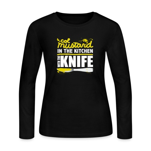 Colonel Mustard - Women's Long Sleeve Jersey T-Shirt