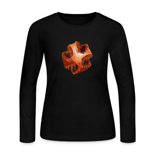 Hunger. - Women's Long Sleeve Jersey T-Shirt