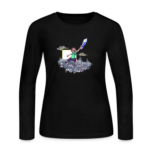 I Can Swing My Sword - Women's Long Sleeve Jersey T-Shirt