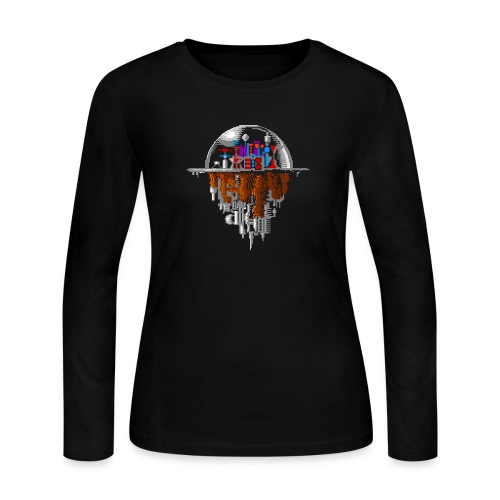 Sky city - Women's Long Sleeve Jersey T-Shirt