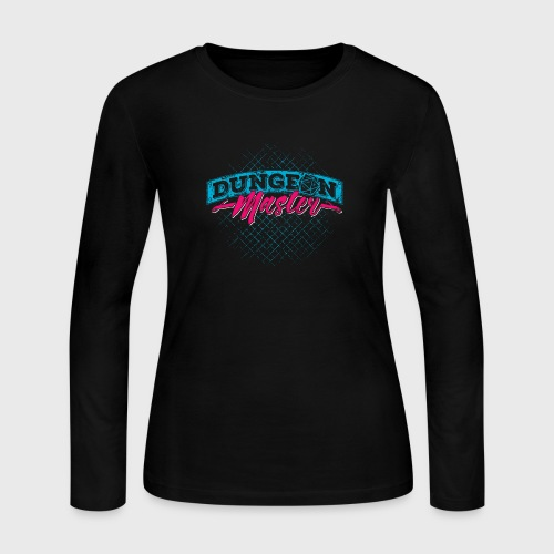 Dungeon Master & Dragons - Women's Long Sleeve Jersey T-Shirt