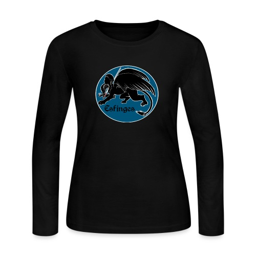Esfinges Logo - Women's Long Sleeve Jersey T-Shirt