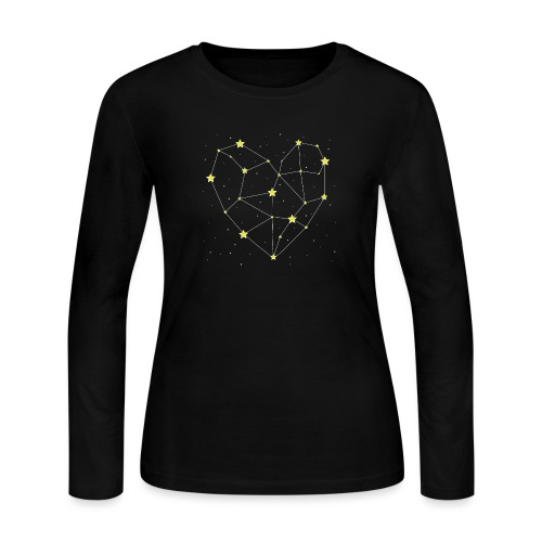 Heart in the Stars - Women's Long Sleeve Jersey T-Shirt