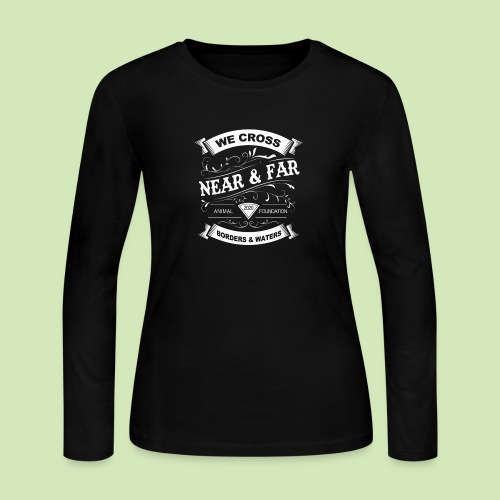 Vintage Near and Far - Women's Long Sleeve Jersey T-Shirt