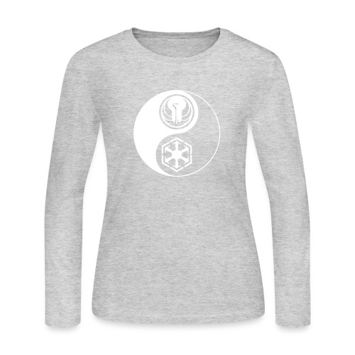 Star Wars SWTOR Yin Yang 1-Color Light - Women's Long Sleeve Jersey T-Shirt