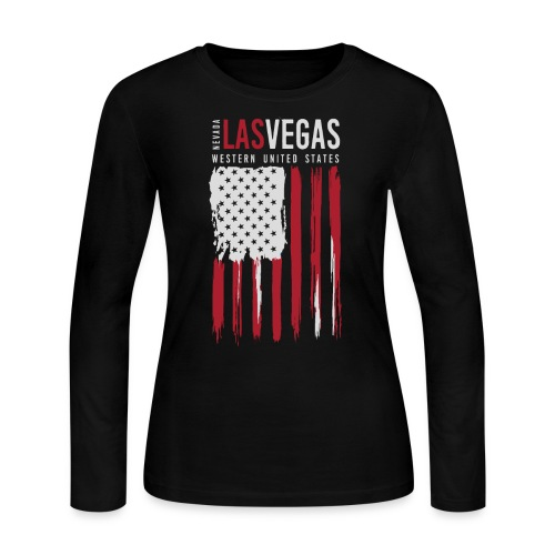 las vegas nevada usa - Women's Long Sleeve Jersey T-Shirt