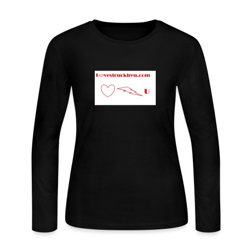 Lovestruckbyu.com - Women's Long Sleeve Jersey T-Shirt