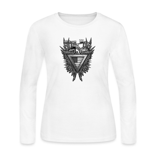 Born Free - Women's Long Sleeve Jersey T-Shirt