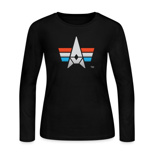 BHK Icon full color stylized TM - Women's Long Sleeve Jersey T-Shirt