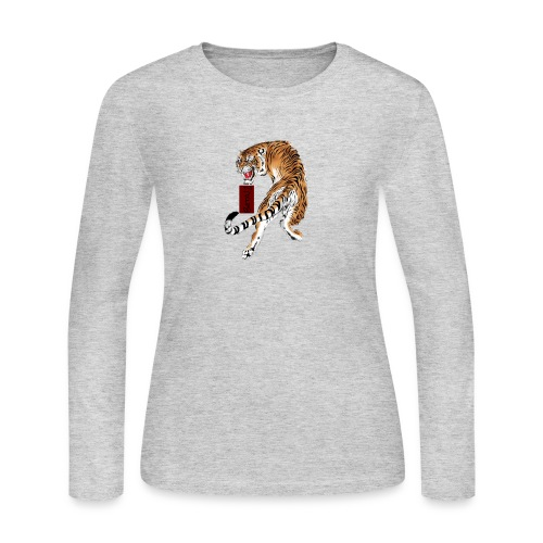 Beta12 / Japanese Tiger - Women's Long Sleeve Jersey T-Shirt