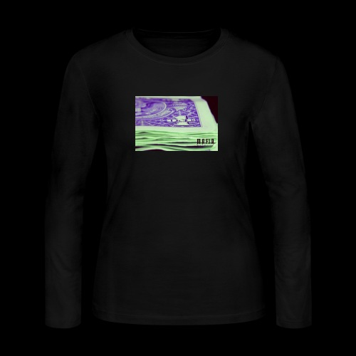 Another day another dollar MAFIA - Women's Long Sleeve Jersey T-Shirt