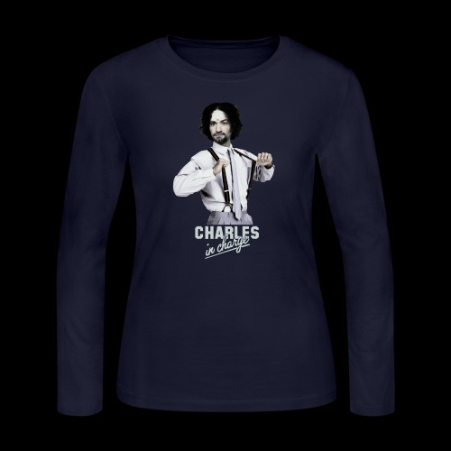 CHARLEY IN CHARGE - Women's Long Sleeve Jersey T-Shirt