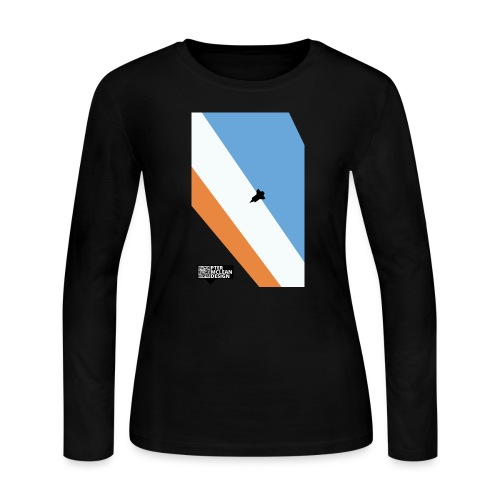 ENTER THE ATMOSPHERE - Women's Long Sleeve Jersey T-Shirt
