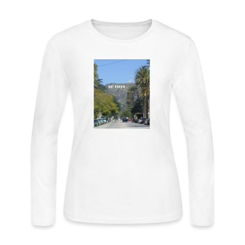 RockoWood Sign - Women's Long Sleeve Jersey T-Shirt