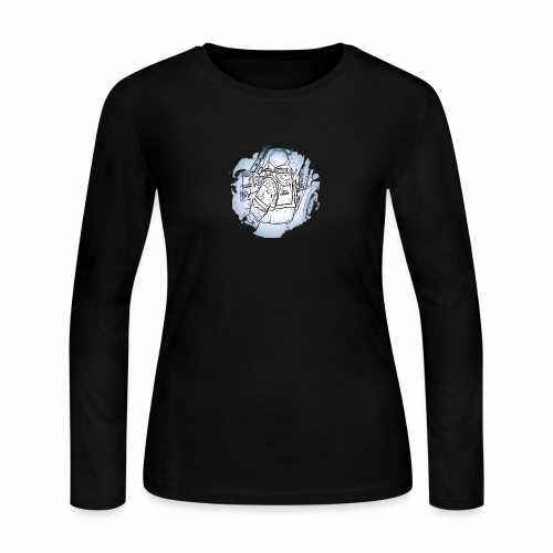 Garbage Truck Work - Women's Long Sleeve Jersey T-Shirt