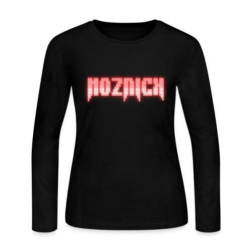 TEXT MOZNICK - Women's Long Sleeve Jersey T-Shirt