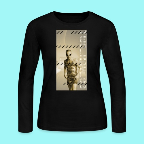 TWO_KAY_00 Brad Pitt - Women's Long Sleeve Jersey T-Shirt