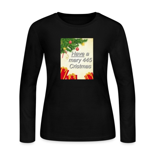 Have a Mary 445 Christmas - Women's Long Sleeve Jersey T-Shirt