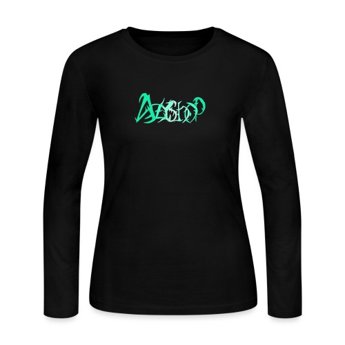 The logo of azyshop - Women's Long Sleeve Jersey T-Shirt