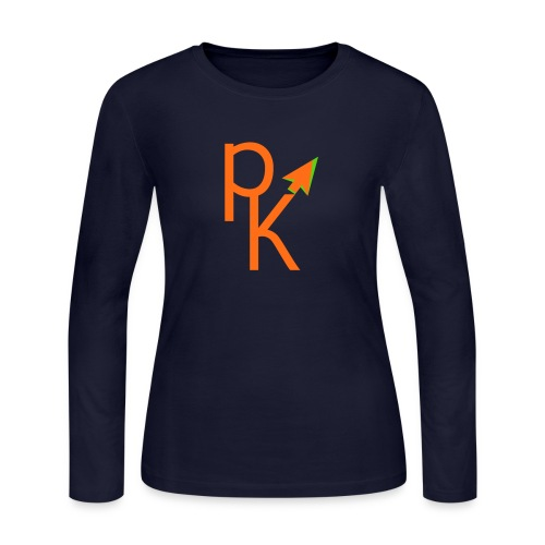 Plusklix Logo - Women's Long Sleeve Jersey T-Shirt