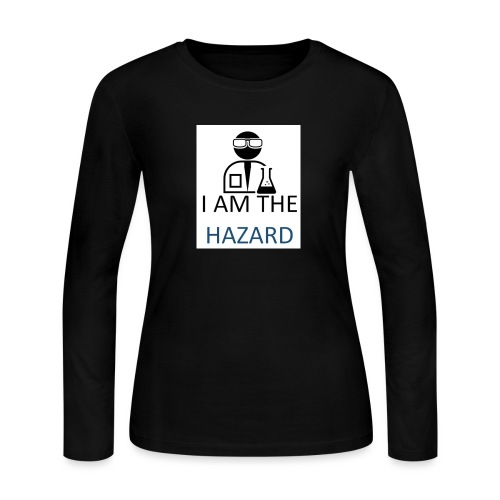 tshirt hazard design1 1 - Women's Long Sleeve Jersey T-Shirt