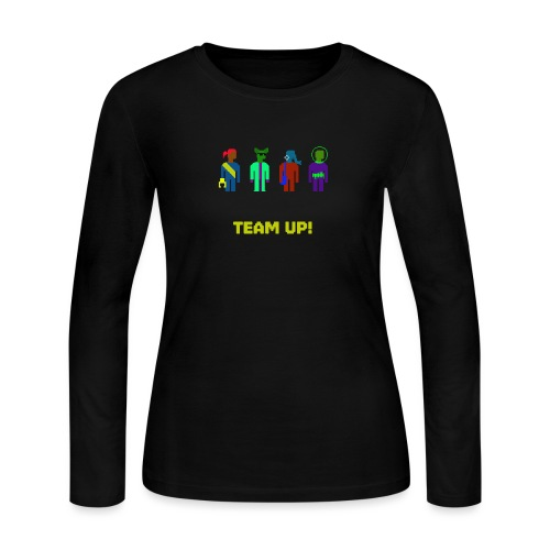 Spaceteam Team Up! - Women's Long Sleeve Jersey T-Shirt