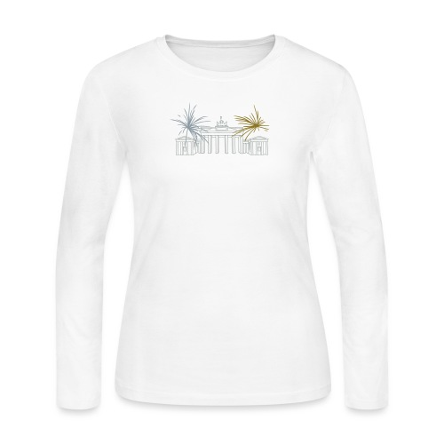 Brandenburg Gate Berlin - Women's Long Sleeve Jersey T-Shirt