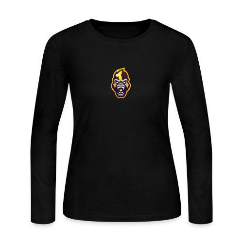 GORILLA - Women's Long Sleeve Jersey T-Shirt