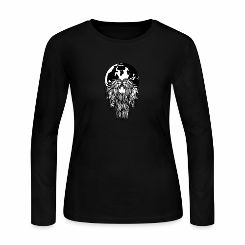 Wanderbeard - Women's Long Sleeve Jersey T-Shirt